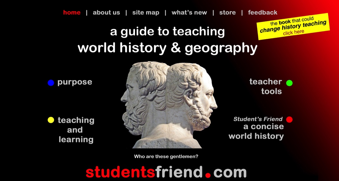 The Student's Friend guide to teaching world histoiry