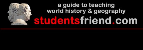 Teaching world history: from StudentsFriend.com